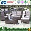 Sofà esterno e Tabella di svago del giardino della mobilia del rattan di vimini esterno del PE impostati (TG-1509)