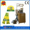 Máquina de confeção de malhas circular computarizada de alta velocidade do tampão e do lenço do jacquard