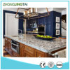 Kitchen를 위한 최고 Prefabricated Black Galaxy Granite Stone Tile Worktop/Countertop