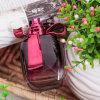 Frasco de perfume de Cristal do cheiro do OEM da fábrica da senhora Corte fresco natural