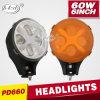 LED Auto fuori da Road Light Car Light 60W 6inch LED Headlight (PD6060)