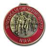 De Medailles van het Metaal van de Marathon van de douane met Embleem (ql-JP-0016)