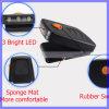 Свет светильника крышки Headlamp USB миниой ультракрасной фары датчика 3LED перезаряжаемые