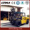 Carretilla elevadora diesel hidráulica de la alta calidad resistente de Ltma 13 toneladas