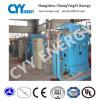 Tres compresor de aire del pistón de la refrigeración por agua de la etapa de la fila cinco