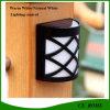 Nuovo indicatore luminoso esterno solare della parete del giardino LED di controllo di illuminazione 2016
