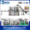 Máquina de rellenar de la cerveza carbónica de la botella de cristal (CGFD-G 18-18-6)