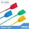 Selo plástico personalizado descartável do Tag (YL-S300)
