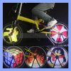 96LED RGB 13 Fotos Rechargeable Glowing Bike Bicycle Wheel Light