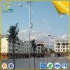 iluminación de los 9m 65W LED con el panel del picovoltio para la calle
