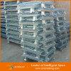 Contenitore accatastabile pieghevole rigido resistente della rete metallica