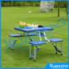 キャンプのCheap Picnic Tables Balcony Folding TableおよびChair