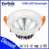 MAZORCA ajustable LED Downlight de la pulgada 18W del precio 5 para la iluminación comercial del LED