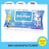 Plastikdeckel-nasse Serviette für Kinder säubern (BW032)