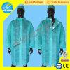 Wegwerfbares Polypropylen-weißer Labormantel, SBPP Uniformen