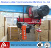 Mini PA Series Electric Wire Rope Hoist con Trolley