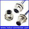 Elektronische M12 Waterdichte PCB zetten de Uitrusting van de Draad van de Schakelaar op