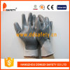 Перчатка серого Nylon серого нитрила работая (DNN441)