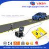 空港または刑務所またはホテルまたはバンクの使用UVISのための移動式Under Vehicle Surveillance System AT3000 UVSS