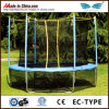 High Quality 14ft Outdoor Round Trampoline with Enclose