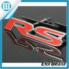 Emblema vermelho quente do decalque do emblema do metal de 3D RS