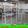 Модульная индикация ткани торговой выставки серии m алюминиевая