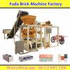 Chaîne de production concrète semi automatique de brique, machine de bloc de la colle