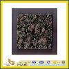 Pavone naturale Green Granite Tile di Polished per Wall/Flooring (YQC)