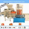Máquina de fabricación de ladrillo concreta Quemar-Libre hidráulica automática llena