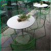 Impato durável - parte superior de tabela estratificada resistente /Table do jardim HPL