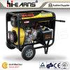 6kw luchtgekoelde Open Diesel van de Cilinder van het Type van Frame Enige Generator (DG8000E3)