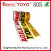 Cinta fuerte plástica excelente del embalaje de la adherencia BOPP de China con insignia impresa aduana