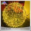 옥외 크리스마스 LED 태양 훈장 크리스마스 공 주제 빛