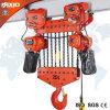 Geschwindigkeits-elektrische Kettenhebevorrichtung der Verdoppelungs20t mit manueller Laufkatze