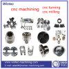 Pieza de torneado de acero modificada para requisitos particulares de las partes del CNC de la precisión que trabaja a máquina