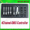 4 het Vrouwelijke Controlemechanisme van Xrl van het Gebruik van de Output van het kanaal DMX