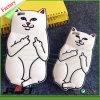 caja del caucho de silicón de señor Nermal Pocket Cat de Ripndip de la historieta 3D para el iPhone 6s más