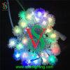 Цветастый напольный свет шнура рождества СИД