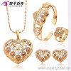 Установленные ювелирные изделия способа высокого качества Multicolor Bridal (63005)