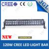 Auto 120W 4D Reflector LED Light Bar voor Jeep