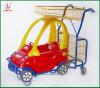 Kind-Spielzeug-Laufkatze, Selbsteinkaufen-Laufkatze-Wagen (JT-E18)