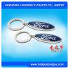 Keyring del metal de Keychain de la insignia del coche de Forld