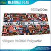 Poliéster toda a bandeira das nações (B-NF05F09320)