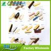 別の形およびサイズの耐久の木の靴手はブラシをごしごし洗う