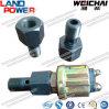 Piezas del motor de Weichai del sensor de presión del aceite del conector