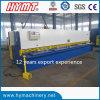 QC11Y-8X6000 Typ hydraulisches Guillotinemetallscherende Maschine/-plattenausschnittmaschine