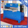 Máquina de corte hidráulica da imprensa do revestimento de couro da mulher (hg-b30t)