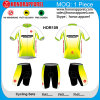 Sublimation su ordinazione Print Short Sleeve Cycling Jersey e Shorts