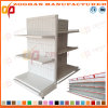 Fábrica Customized Supermarket Pegboard Iron Gondola Display Shelf (Zhs296)