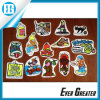 Removable Glue Backsideの4 Color PVC Stickers